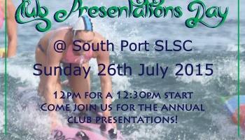 Senior Club Presentations Day
