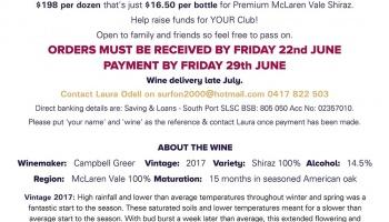 2017 McLaren Vale Cleanskin Premium Shiraz Dozen Offer