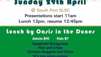 JUNIOR PRESENTATION DAY - Sunday 29th May 11am