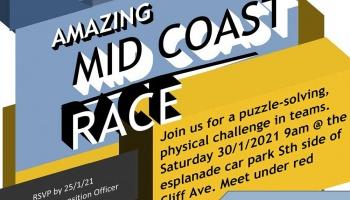 SQUIDS Amazing Race take 2