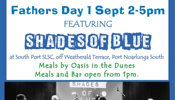 Sunday Session - 1 Sept featuring Shades of Blue