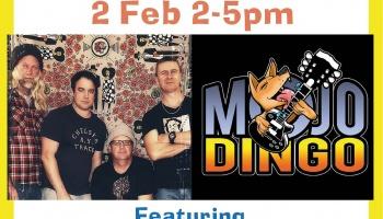 Sunday Session - 2 Feb featuring Mojo Dingo