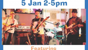 Sunday Session - 5 Jan featuring The Hawkins Band