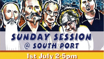 Sunday Session 1st July featuring Bluescasters