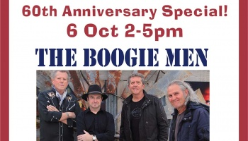 Sunday Session - 6 Oct featuring The Boogie Men
