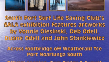 Art In the South Port Dunes